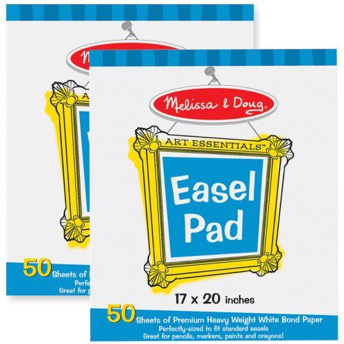 Melissa and Doug 2-pk. Easel Pad Bundle