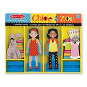 Melissa and Doug Chloe and Zoe Magnetic Dress-Up