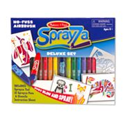 Melissa and Doug SprayZa Deluxe Set