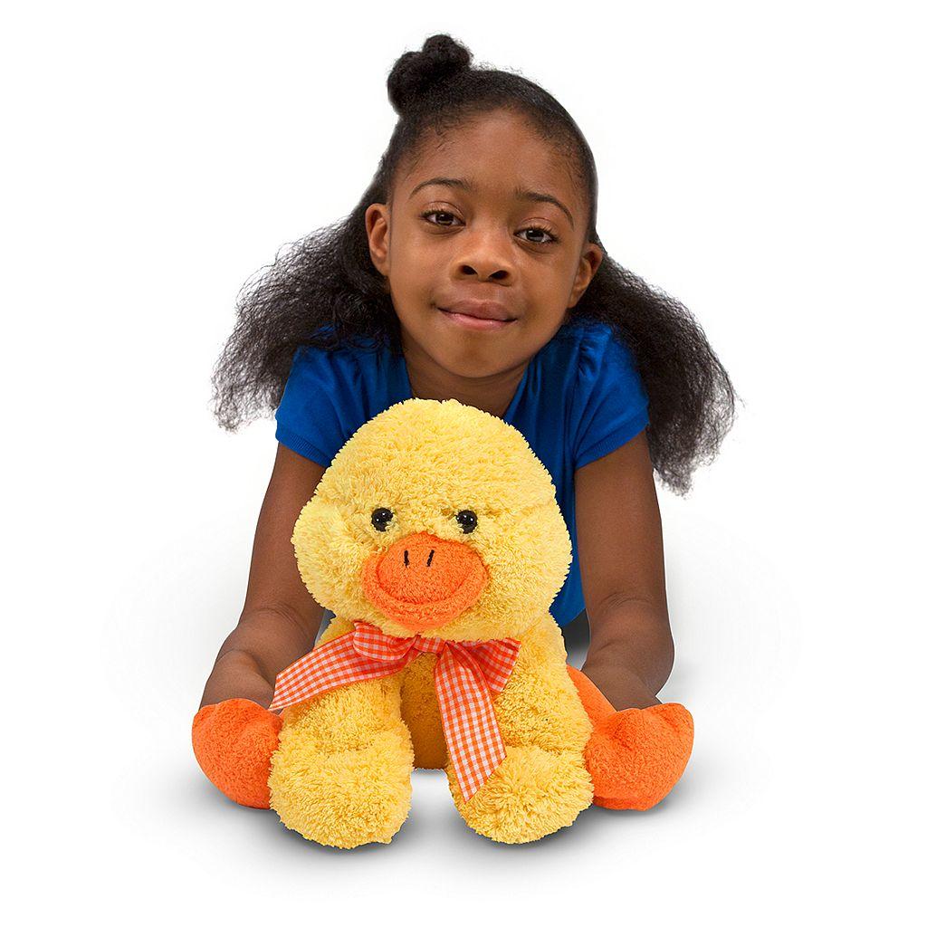 Melissa and Doug Meadow Medley Ducky Stuffed Animal