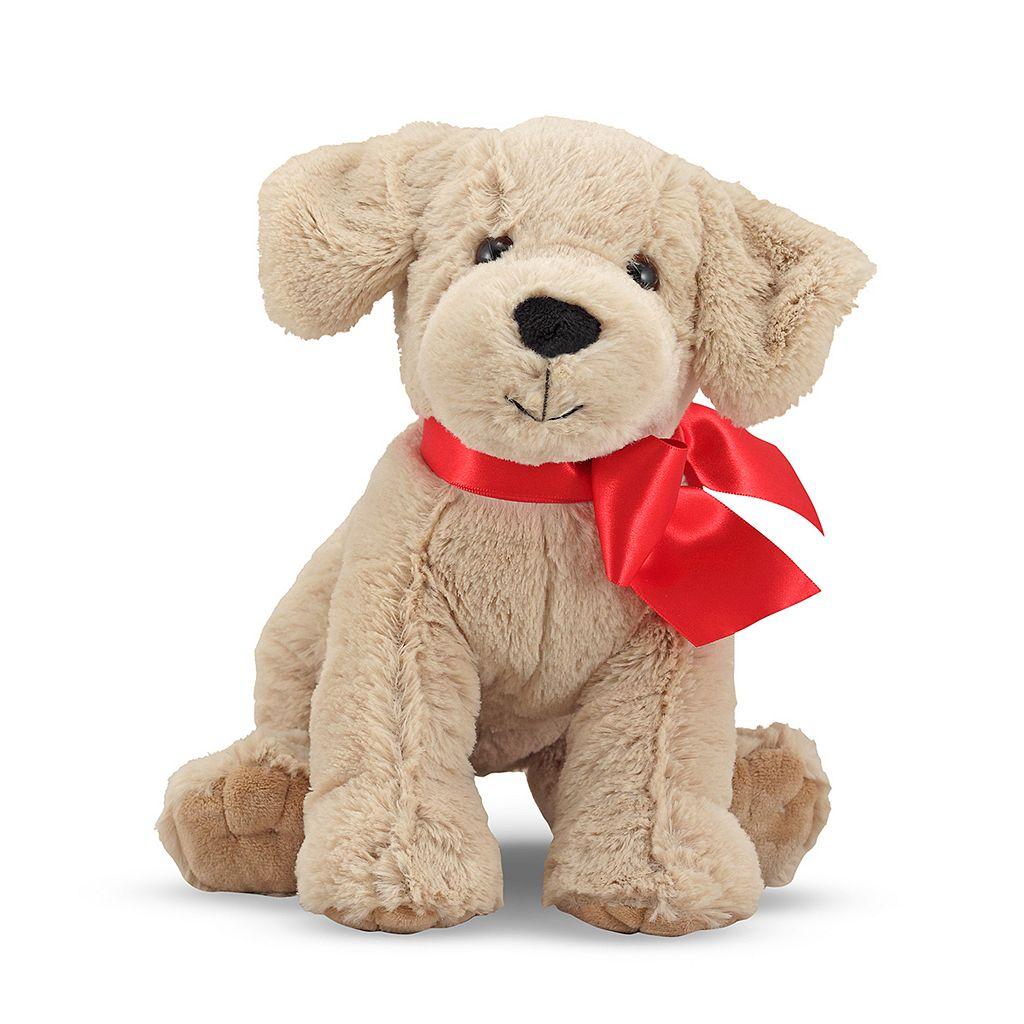 Melissa & Doug Sunny Yellow Lab Puppy Dog Stuffed Animal
