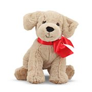 Melissa and Doug Sunny Yellow Lab Puppy Dog Stuffed Animal