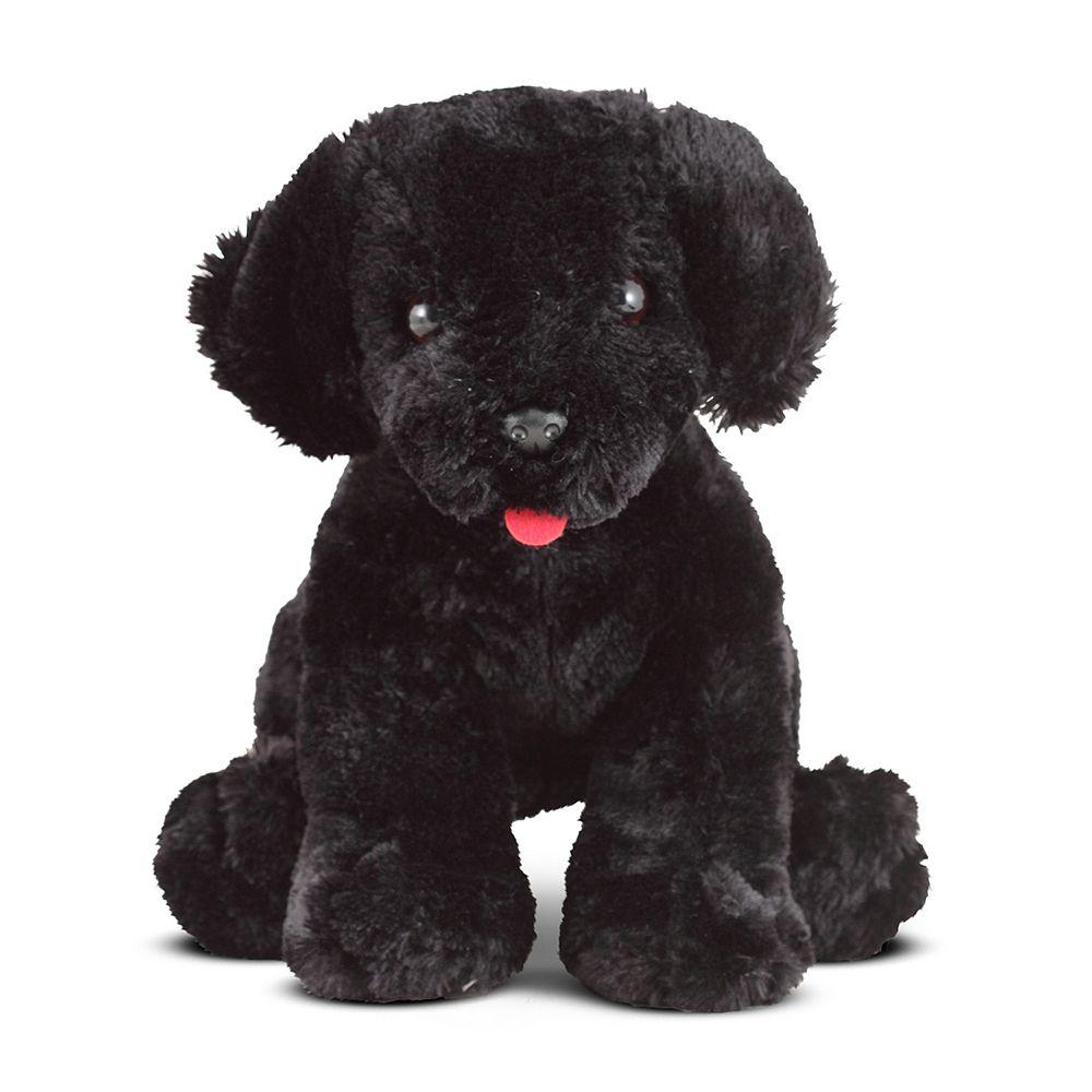 Melissa & Doug Benson Black Lab Puppy Dog Stuffed Animal