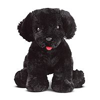 Melissa & Doug Benson Black Lab Puppy Dog Stuffed Animal