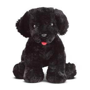 Melissa and Doug Benson Black Lab Puppy Dog Stuffed Animal