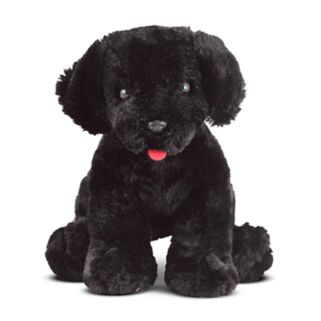 Melissa and Doug Benson Black Lab Puppy Dog Stuffed Animal