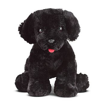 Melissa Doug Benson Black Lab Puppy Dog Stuffed Animal