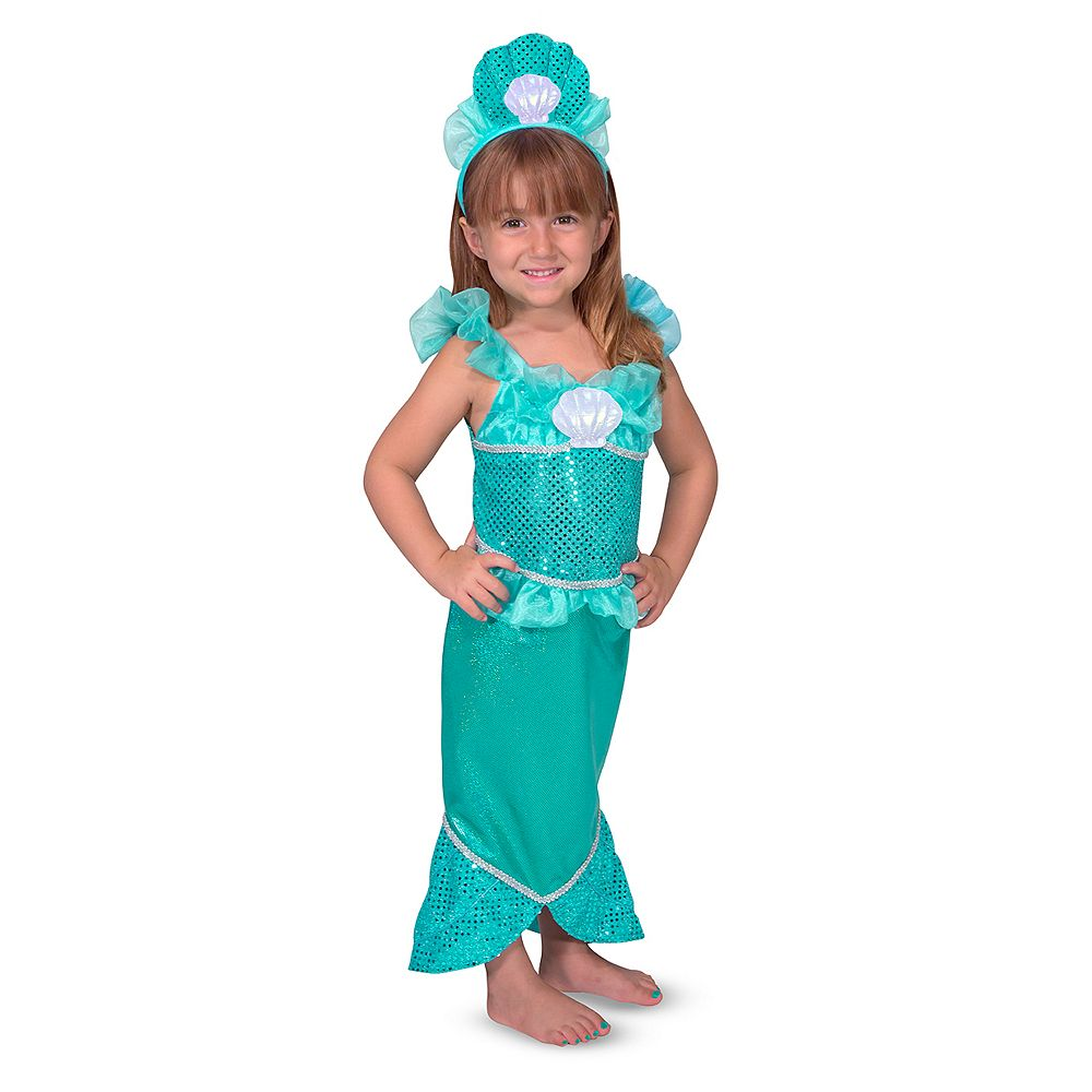 & Doug Mermaid Role Play Costume Set