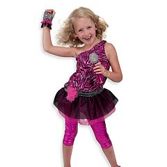 Melissa & Doug Rock Star Role Play Costume Set