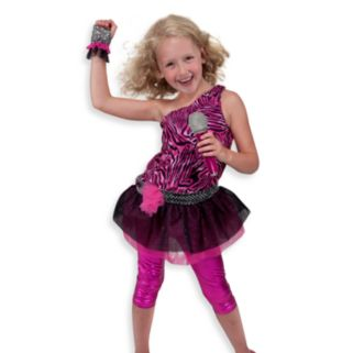Melissa and Doug Rock Star Role Play Costume Set