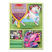 Melissa & Doug My Horse Clover Magnetic Dress-Up Set