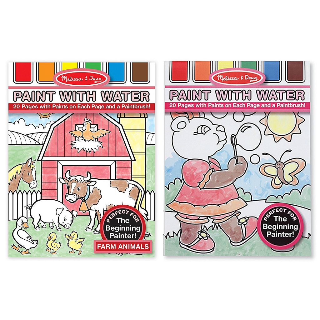 Melissa & Doug Paint with Water Bundle