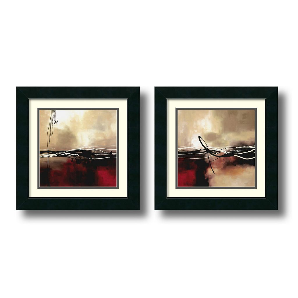 2-pc. ''Symphony'' Framed Wall Art Set by Laurie Maitland