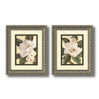 2-pc. Magnolias Framed Wall Art Set by Waltraud Fuchs Von Schwarzbek