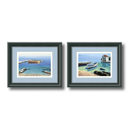 2-pc. ''Peaceful Morning'' Framed Wall Art Set by Frane Mlinar