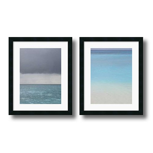 2-pc. ''Bleu'' Framed Wall Art Set by Brian Leighton