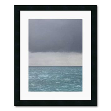 ''Bleu 8'' Framed Wall Art by Brian Leighton