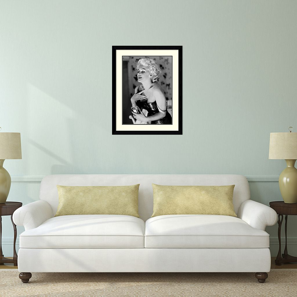 ''Marilyn Monroe, Chanel No. 5'' Framed Wall Art