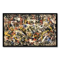'Convergence'' Framed Wall Art by Jackson Pollock