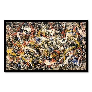 'Convergence'' Framed Wall Art by Jackson Pollock