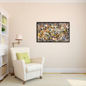 Convergence Framed Wall Art by Jackson Pollock