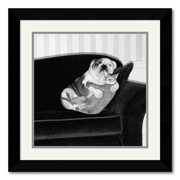 ''Forbidden Love'' Framed Wall Art by Howard Berman