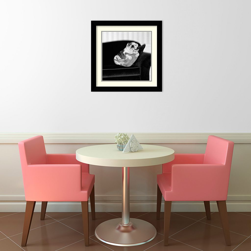 Forbidden Love Framed Wall Art by Howard Berman