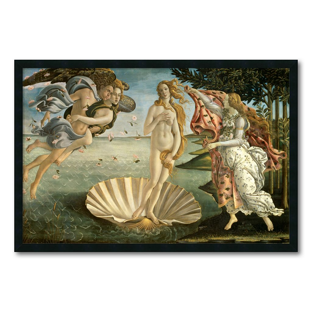 ''The Birth of Venus'' Framed Wall Art by Sandro Botticelli