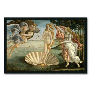 The Birth of Venus Framed Wall Art by Sandro Botticelli