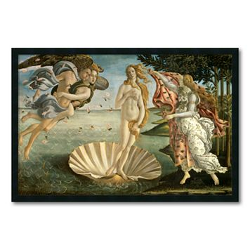 ''The Birth of Venus'' Framed Wall Art by Sandro Botticelli