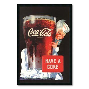 ''Coca-Cola Have a Coke'' Framed Wall Art