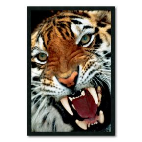 Bengal Tiger Close-Up Framed Wall Art