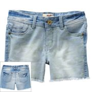 Mudd Camouflage Denim Shorts - Girls 7-16