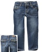 Mudd Jewel Stud Denim Capris - Girls 7-16