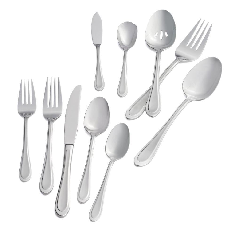 joann 45 pc flatware set