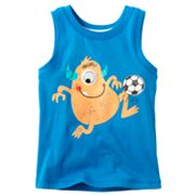Jumping Beans Soccer Monster Googly Eye Tank - Toddler
