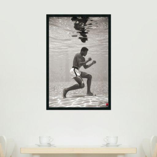 Ali - Underwater Framed Wall Art