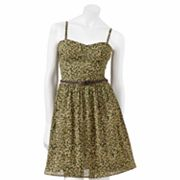 Lily Rose Camouflage Dress - Juniors