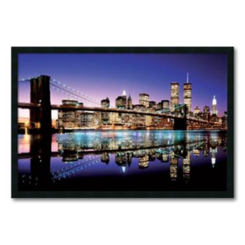 ''Brooklyn Bridge'' Framed Wall Art