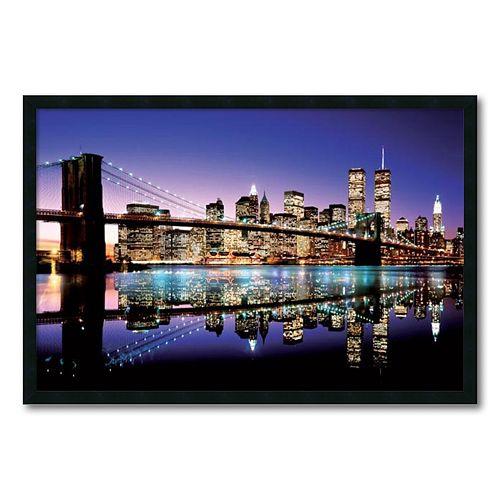 'Brooklyn Bridge'' Framed Wall Art