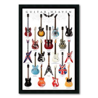 Guitar Heaven Framed Wall Art