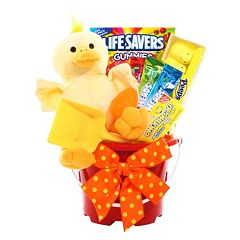 Ducky Easter Pail Gift Basket