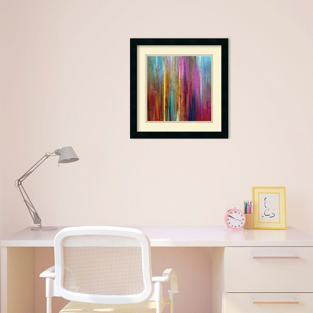 Sunset Falls I Framed Wall Art by John Butler