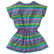 Chaps Striped Dress - Toddler