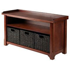 Winsome Granville 2 tier Storage Bench