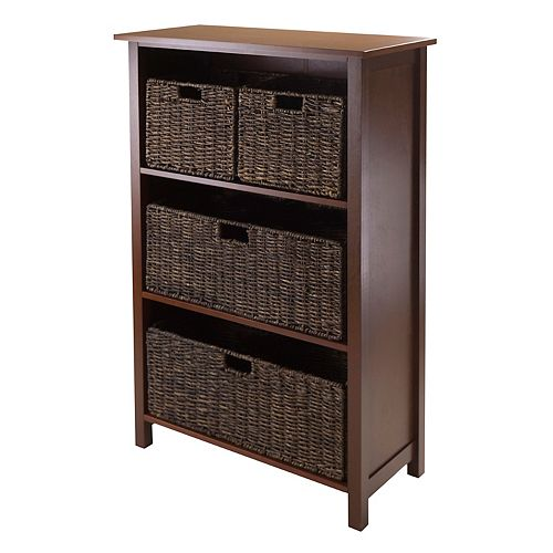 Winsome Granville Tall 4-Tier Storage Shelf