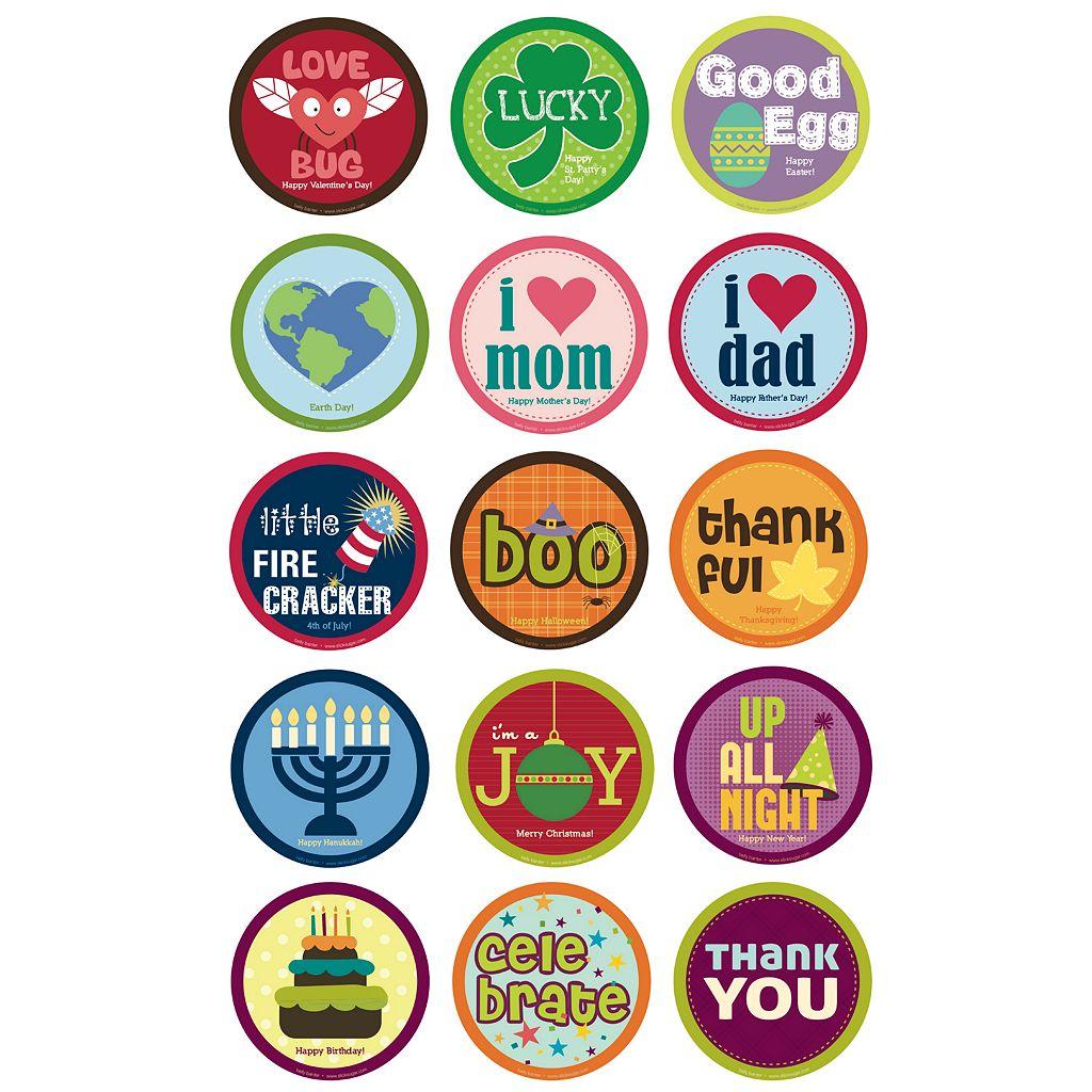 Belly Banter Growth Sticker Set by Slick Sugar - Holidays