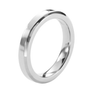 Steel City Stainless Steel Band Ring
