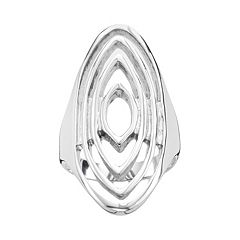 Steel City Stainless Steel Openwork Ring