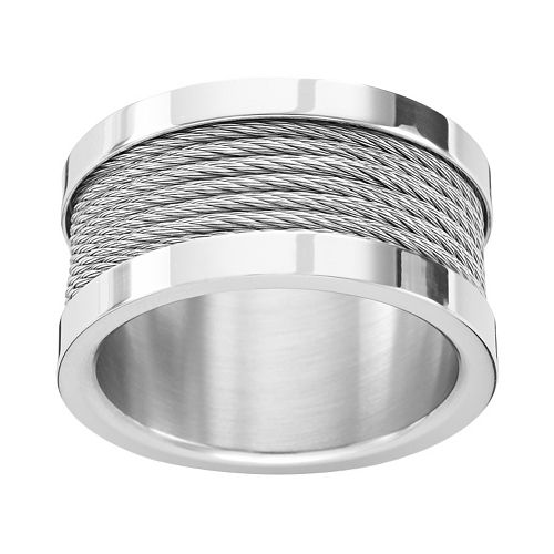 Steel City Stainless Steel Cable Ring